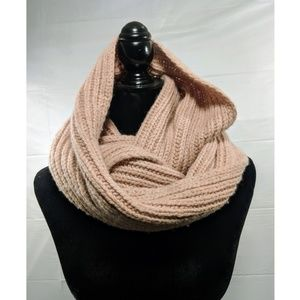 ☃️ {J. Crew} Baby Pink Infinity Scarf